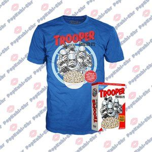 Funko Boxed Tee: Star Wars - Trooper Frosted O's